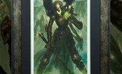 Mortighull: Soldier of Cruel Purpose Premium Art Print