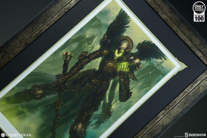 Witness the Strength of the Mortighull: Soldier of Cruel Purpose Premium Art Print