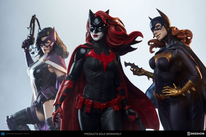 The Batwoman Premium Format™ Figure is Prepared to Protect Gotham