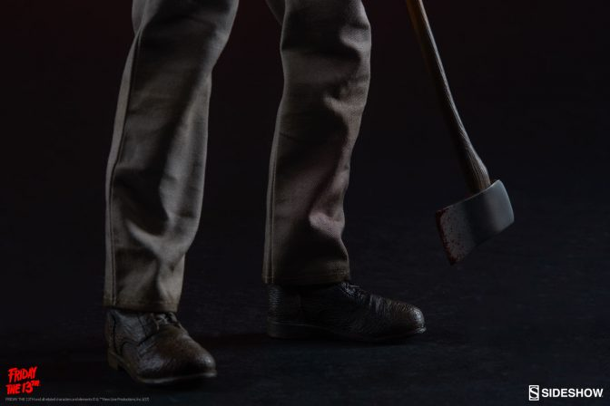 Friday the 13th Jason Voorhees Figure Legs with Axe