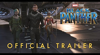 Marvel Debuts New Black Panther Trailer- Long Live the King!