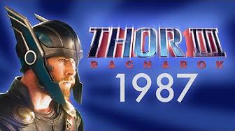 Nerdist Rocks us with a 1980's Style Thor Ragnarok Trailer