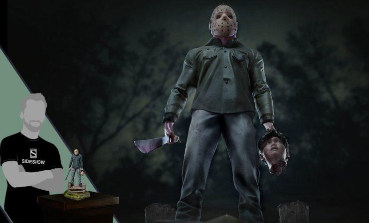 Jason Voorhees Deluxe Statue