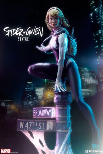Mark Brooks Spider-Verse Spider-Gwen Statue