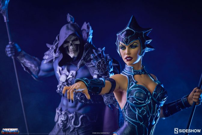Bring Evil to Eternia with the Evil-Lyn Classic Statue