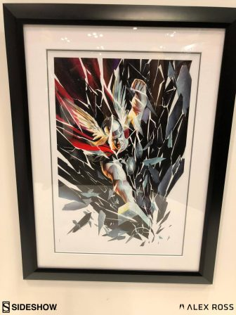 Thor: Shattered Fine Art Lithograph