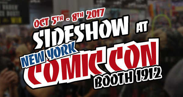 See the Sideshow Booth Tour for NYCC 2017!
