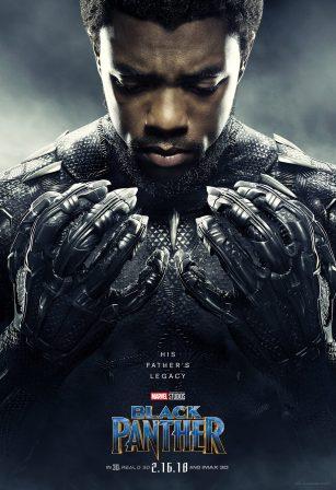 Chadwick Boseman as T'Challa