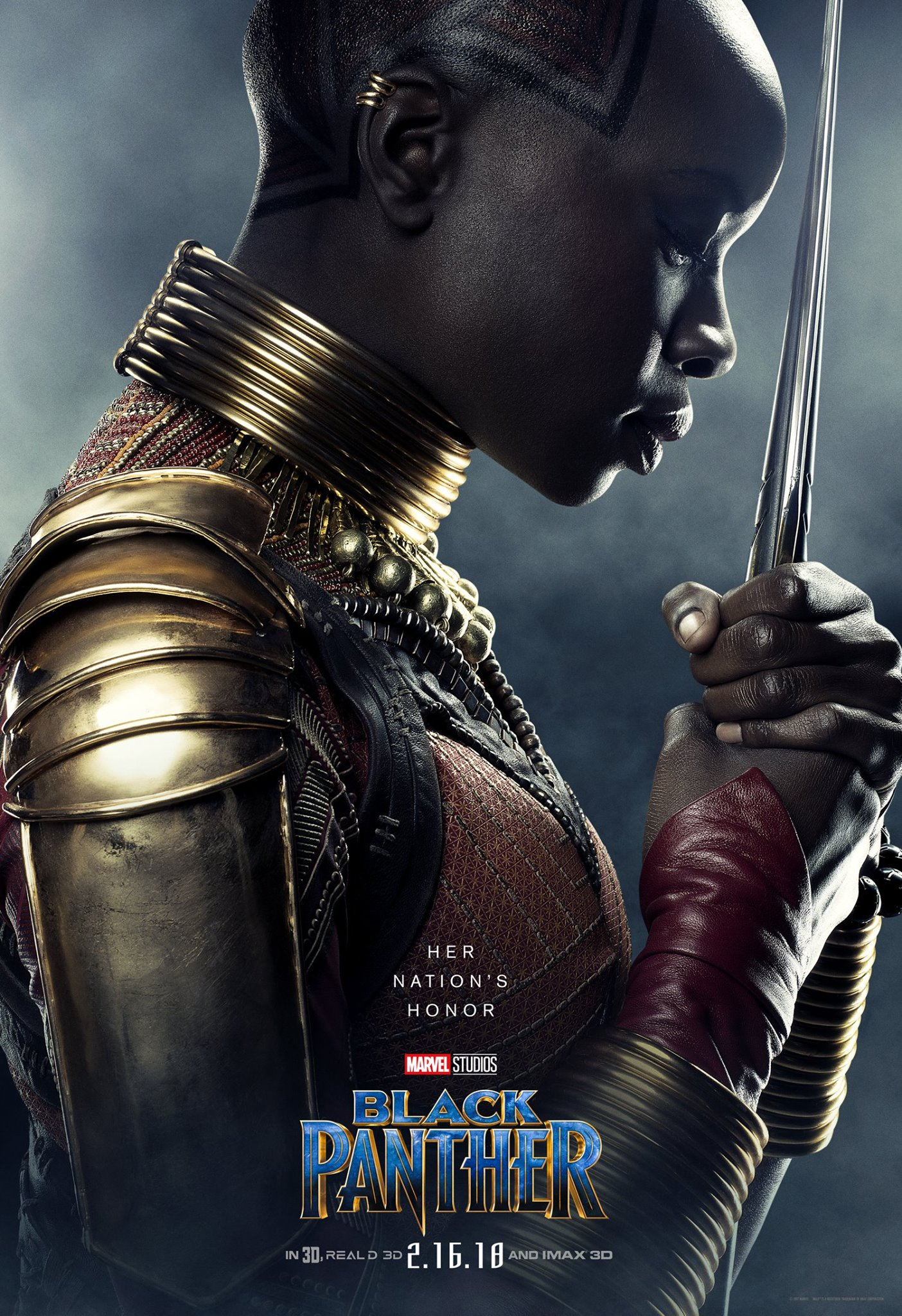 1722690d Marvel Premieres New Black Panther Posters to Introduce the World of ...