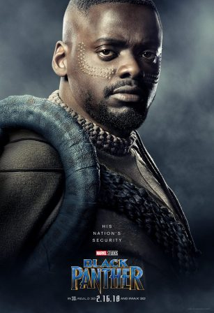 Daniel Kaluuya as W'Kabi
