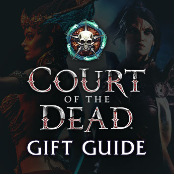 Court of the Dead Gift Guide Collectibles