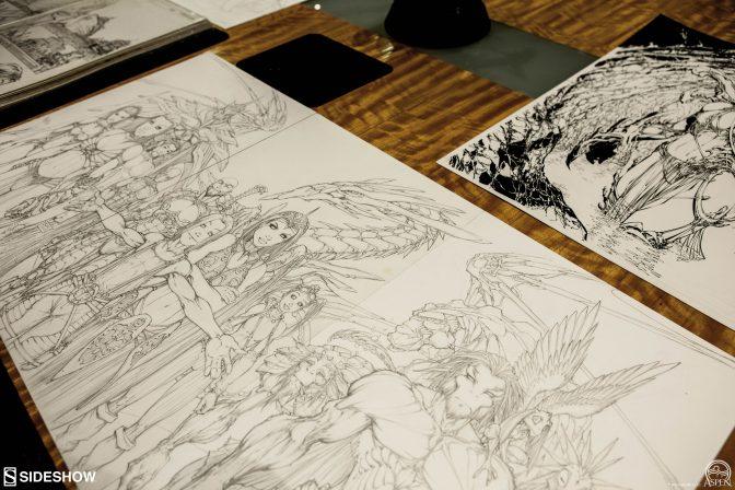Michael Turner's Original Artwork on Sideshow Live