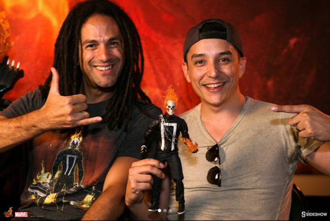 Gabriel Luna and Felipe Smith Talk Ghost Rider in New Video on Sideshow Live