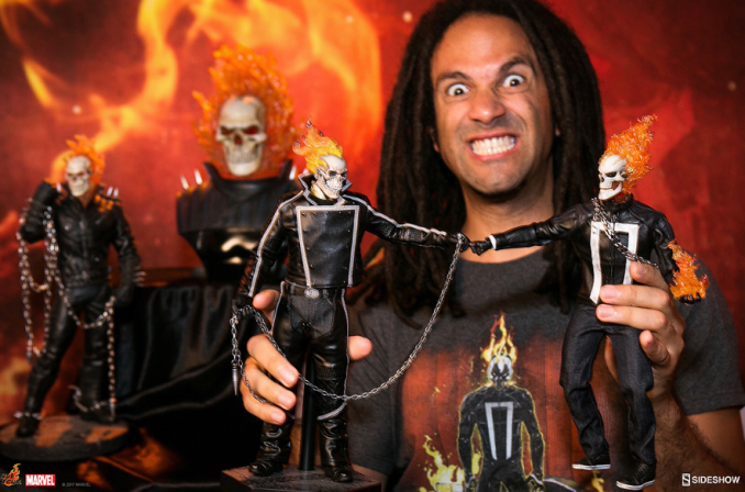 The Spirit of Vengeance Visits Sideshow This Week with Ghost Rider News