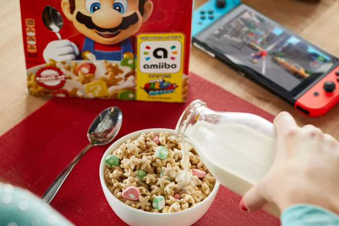 Nintendo and Kellogg's Release Super Mario Cereal