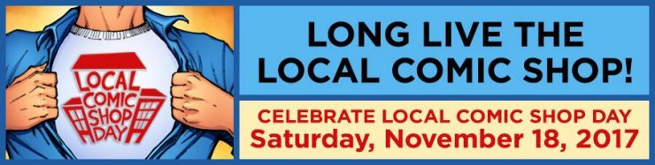 Celebrate Local Comic Shop Day