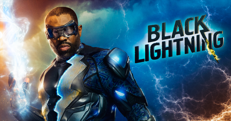CW's Black Lightning Promo Premieres During DC Television Event