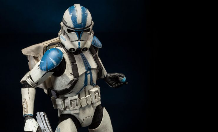Evolution of the Stormtrooper- Clone Troopers
