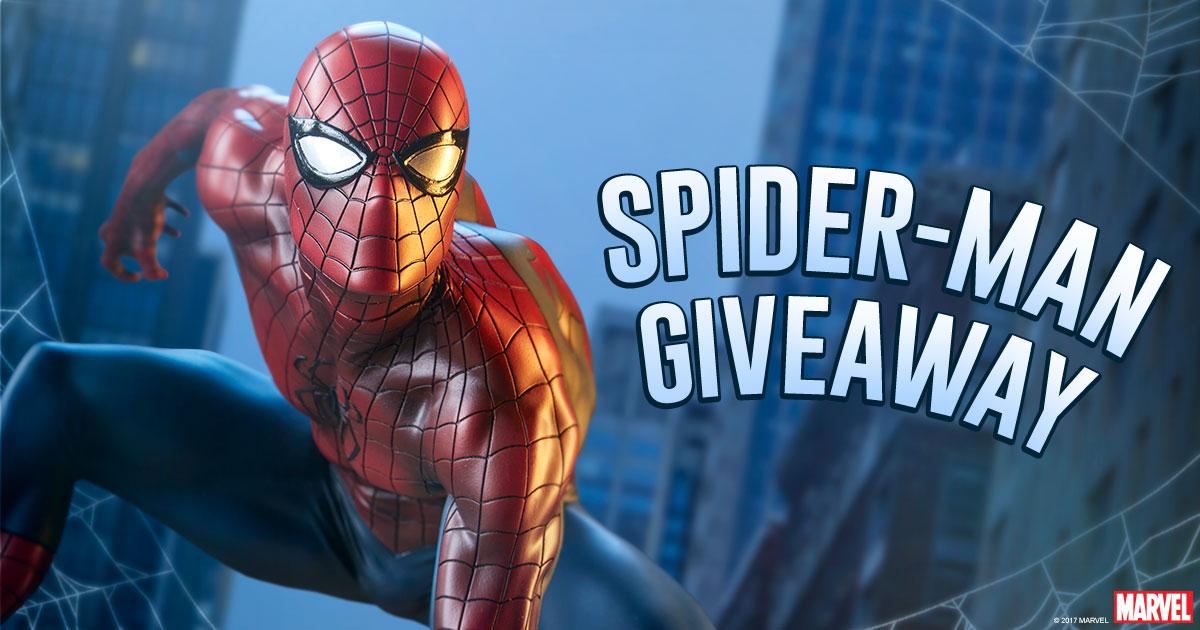 Spider-Man Statue Giveaway