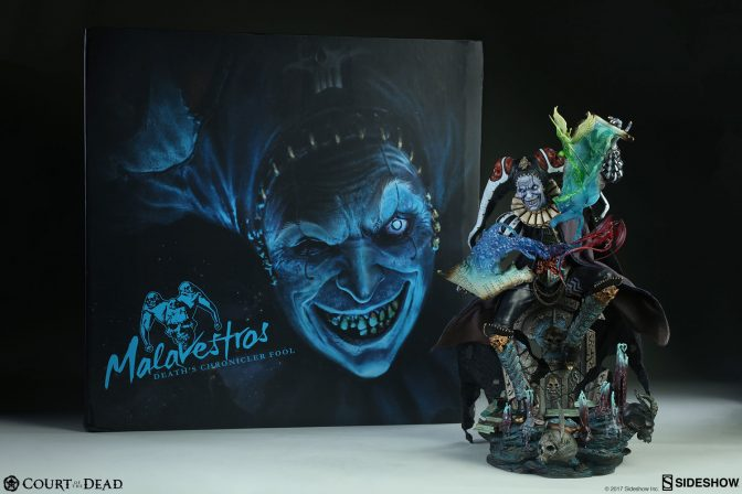 New Photos of the Malavestros Premium Format Figure are here!