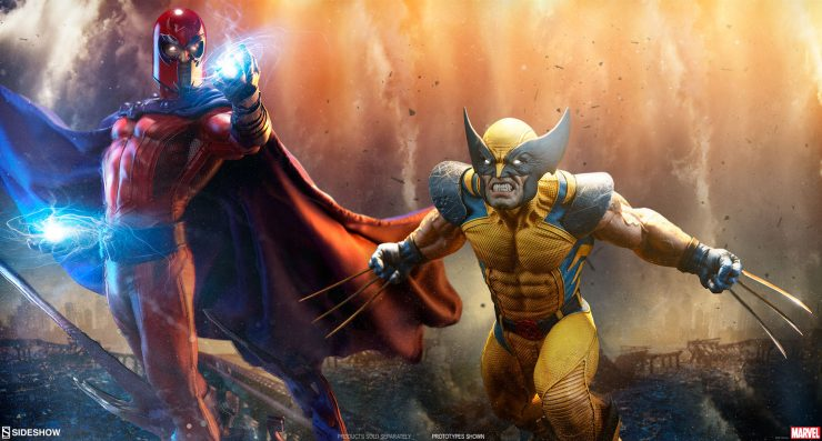 Wolverine Fights Magneto