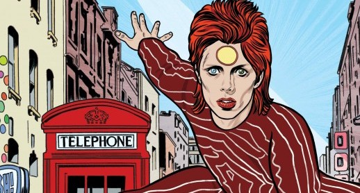 New David Bowie Graphic Novel from Insight Comics