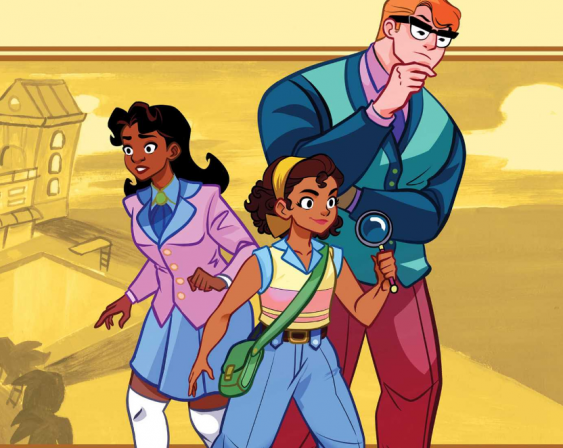 Graphic Novel Goldie Vance Optioned for Film