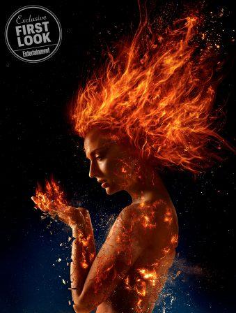 Sophie Turner Unlocks the Fiery Phoenix Force