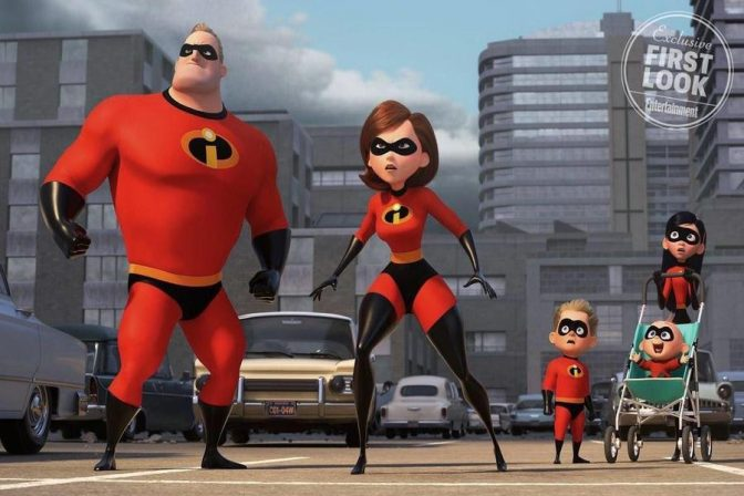 Entertainment Weekly Shows First Look at Incredibles 2