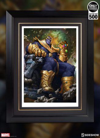 Thanos on Throne Variant Premium Art Print