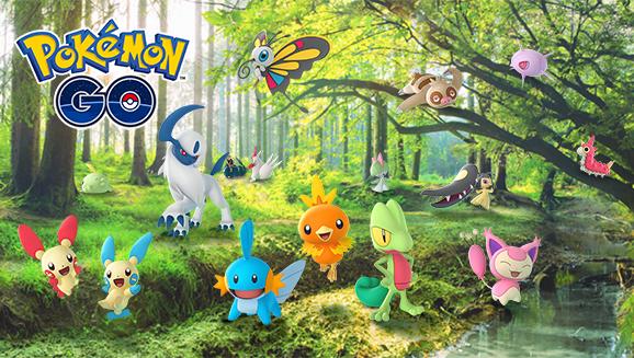 Pokemon Go App Updates with More Pokemon