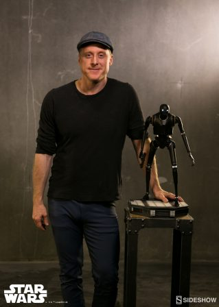 Alan Tudyk Meets K-2SO