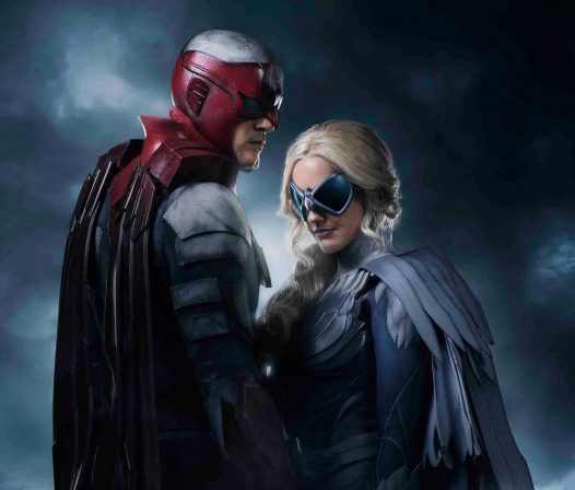 First Look at Titans Hawk and Dove
