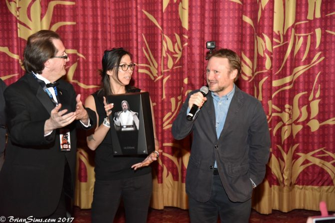 Rian Johnson at TCL Chinese Theatre for The Last Jedi