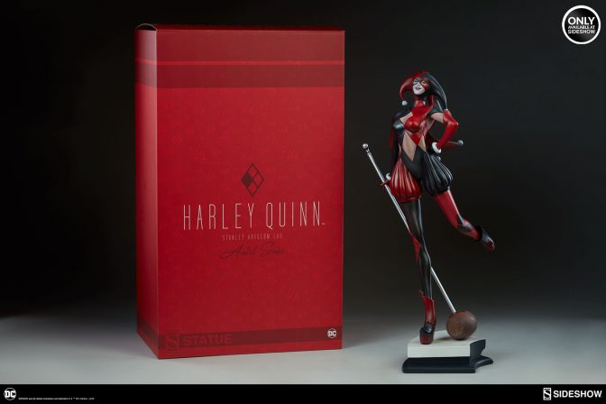 Check out the new photos of the Stanley Lau's Harley Quinn Statue!