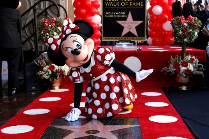 Minnie Mouse Receives Star on Walk of Fame