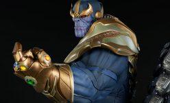 Thanos on Throne