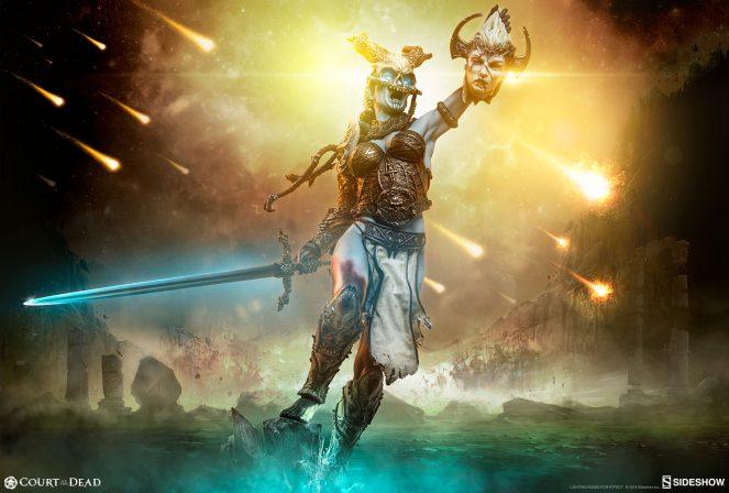 Celestials Should Fear the Kier: Death's Warbringer Premium Format™ Figure