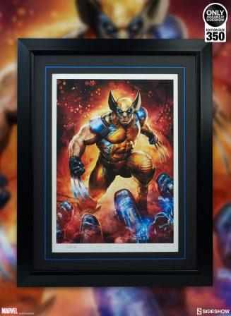 Wolverine Premium Art Print