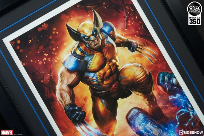 Slice Through Sentinels with the Wolverine Premium Art Print