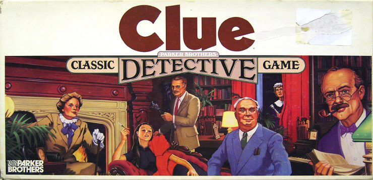 Clue Movie Remake from Deadpool Creative Team