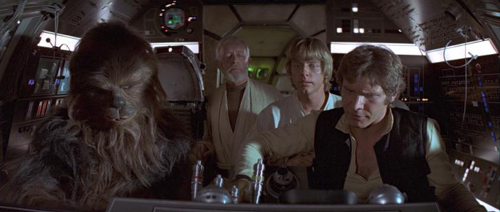 Theatrical Release Starts with Original Trilogy, to Prequels, to Sequels