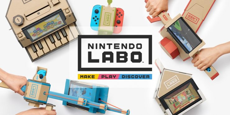 Nintendo Introduces Labo Variety Kits for Switch