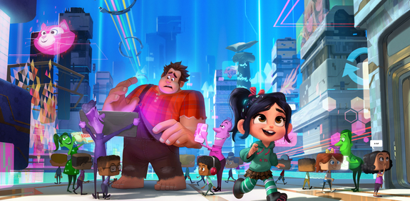 Wreck-It-Ralph 2 Concept Art and Synopsis