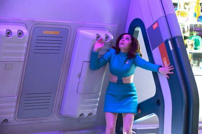 Cristin Milioti as Nanette in Black Mirror's USS Callister