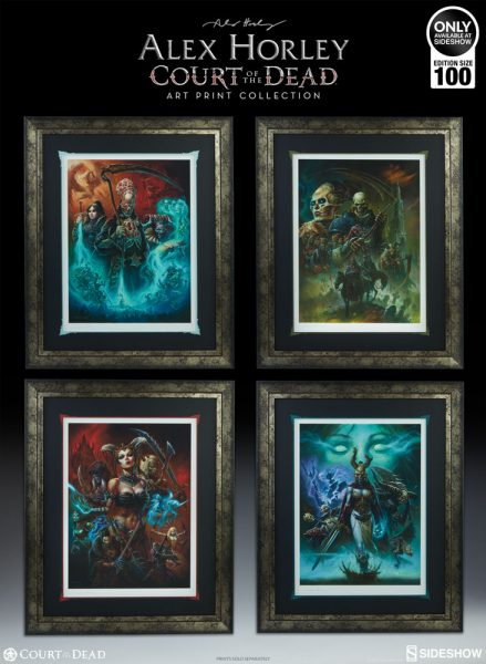 The Alex Horley Court of the Dead Art Print Collection