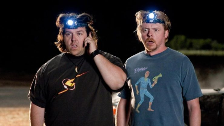 Pegg and Frost Developing Paranormal Comedy Series