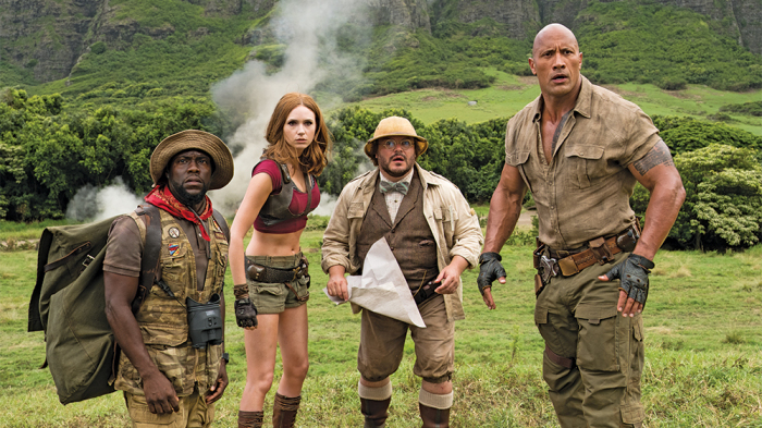 Jumanji is King of the Box Office Jungle For First Time Since Debut