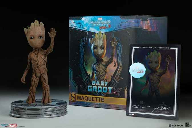 Check out the New Photos of the Baby Groot Maquette!