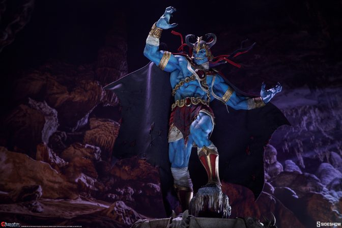 Ancient Spirits of Evil Reveal the Mumm-Ra Statue!